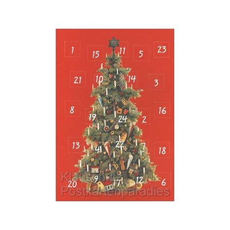 geschichte weihnachtsbaum adventskalender