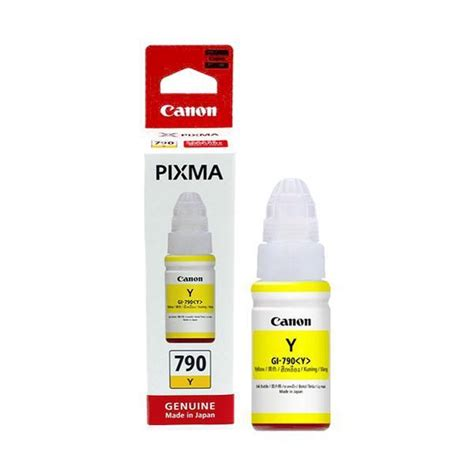 Cartridge Canon 790 Gi790 Gi 790 Gi 790 Tinta Printer Botol Kuning original canon gi 790 yellow ink ca end 11 21 2017 9 02 pm