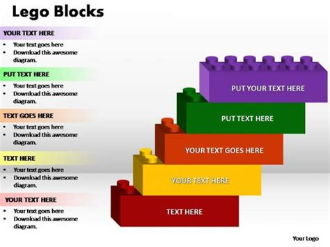 lego design for powerpoint childhood powerpoint templates slides and graphics
