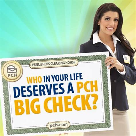 Bingo Pch Com - who in your life deserves a pch big check pch playandwin blog