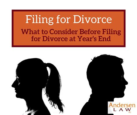 Files For Divorce by What To Consider About Filing For Divorce At The End Of