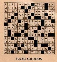 lake boat crossword canada lake puzzle solutions