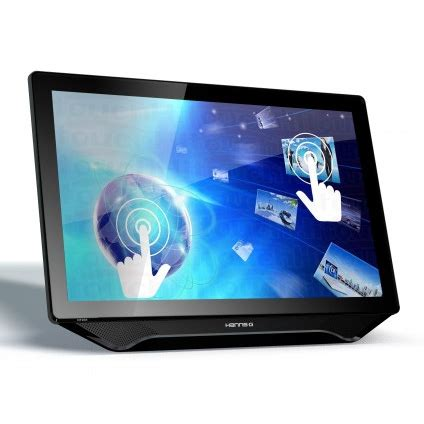 hannsg releases its first touch monitor, a 23 inch lcd