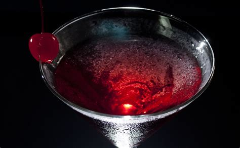 martini cherry easy drink mixer black cherry martini recipe