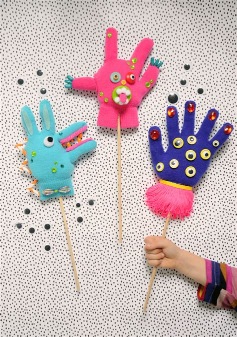 Glove Crafts Project Kid
