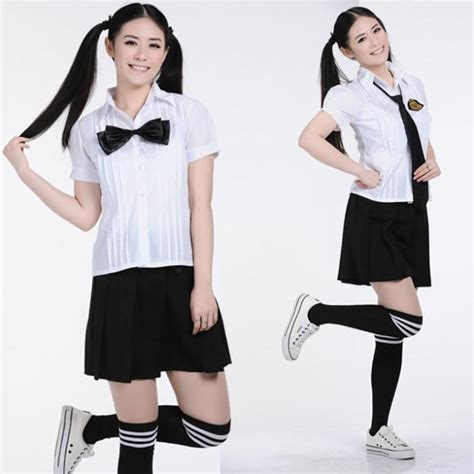 Kaos Anime Korean Style Special Black T Shirt Kd 15 new 2016 japanese school set student