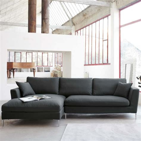 gray sofa with chaise lounge gray sectional sofa with chaise luxurious furniture