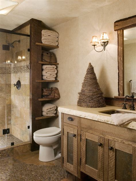 Cabin Bathroom Ideas by 25 Rustic Bathroom Decor Ideas For World