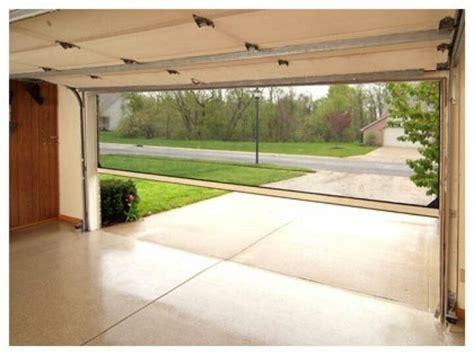 Retractable Screen On Garage Door by Screen Garage Door For The Home