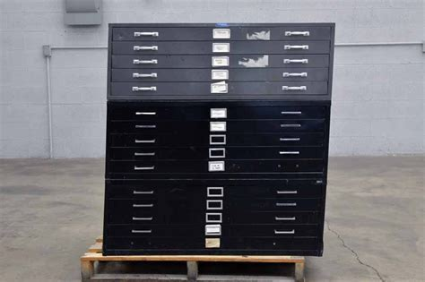 Foster Flat Metal Filing Cabinets   Boggs Equipment