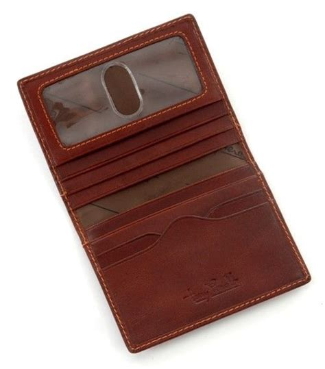 tony perotti ultimo weekend wallet id window handmade