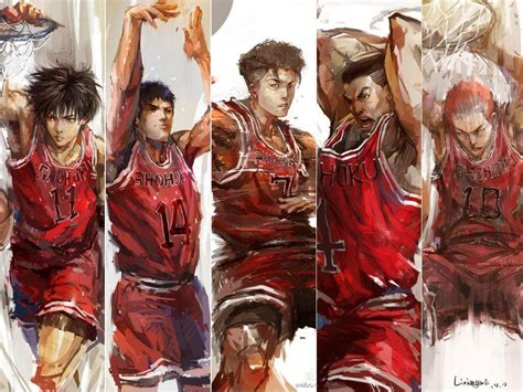 slam dunk slam dunk anime wallpapers wallpaper cave
