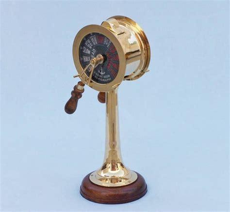 nautical home decor wholesale buy brass titanic engine room telegraph 18 inch