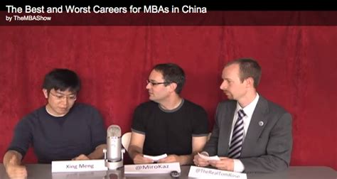 Mba Show by Business School Tv Show The Mba Show