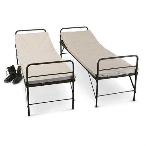 military bunk beds 4 new german military hospital bunk beds 157423 cots at sportsman s guide