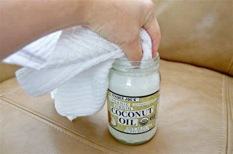 coconut oil for leather couch how to clean leather furniture naturally mom 4 real