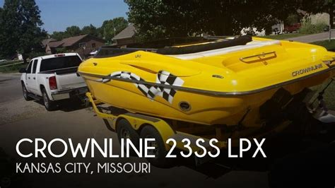 crownline boats for sale kansas city for sale used 2007 crownline 23ss lpx in kansas city