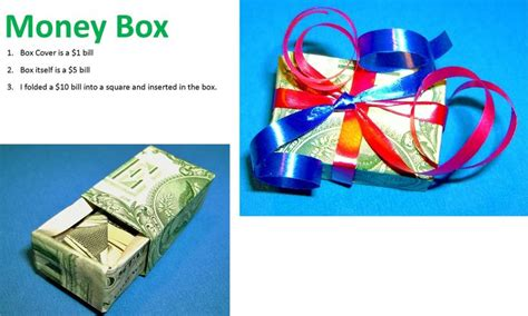 Money Box Origami - origami money box diy