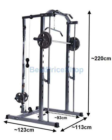 power rack bench press heavy duty high grade fitness gym squat power rack station