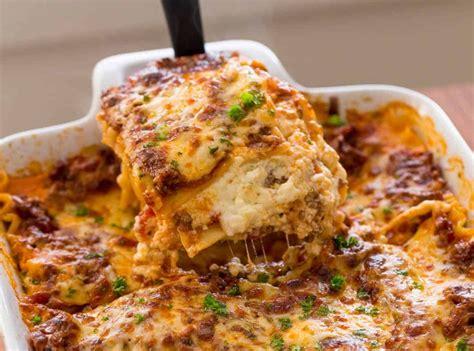 resep lasagna  enak  mudah ala pizza hut