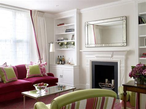 splashy pink sofa mode london victorian living room image