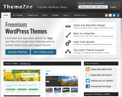wordpress themes zee new layout on themezee com themezee