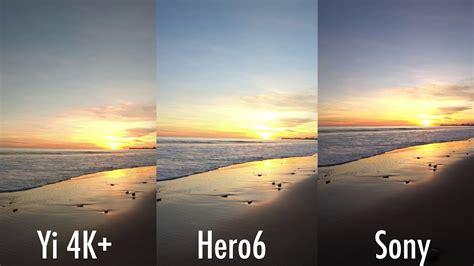 4k comparison gopro hero6 4k image comparison vs sony x3000r vs hero5