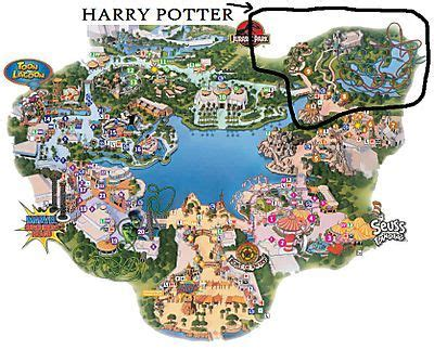 harry potter orlando florida mapa net deals image