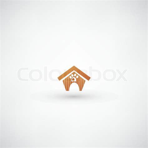 dog house sign dog house sign stock vector colourbox