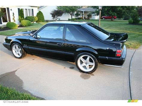 1992 mustang lx 1992 black ford mustang lx 5 0 coupe 17251468 photo 6