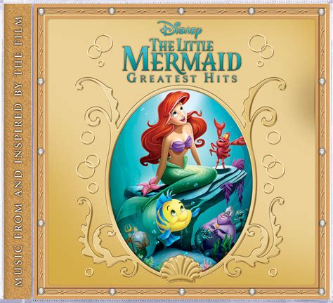 Cd Soundtrack Of Your the mermaid greatest hits disney