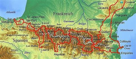 Motorradtouren Frankreich Karten by Motorradreise Pyren 228 En Gef 252 Hrte Motorradtouren