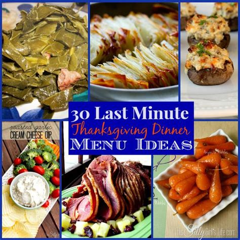 30 last minute thanksgiving dinner menu ideas the weekly