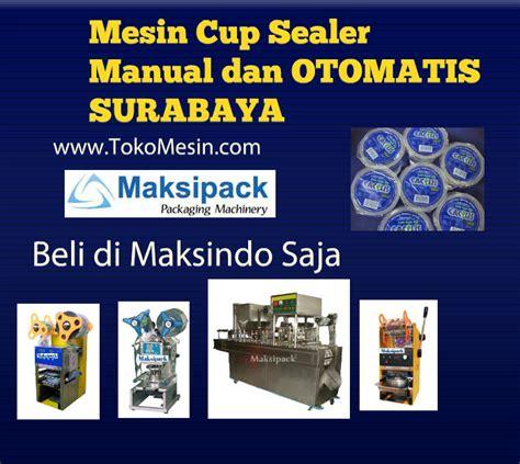 Plastik Cup Sealer bisnis murah dengan mesin cup sealer plastik