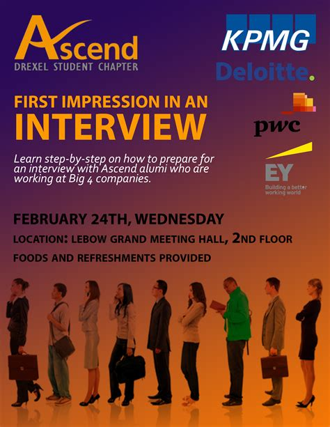 Minor In Economics Vs Mba by Drexel Ascend Big 4 Presents Impression In An