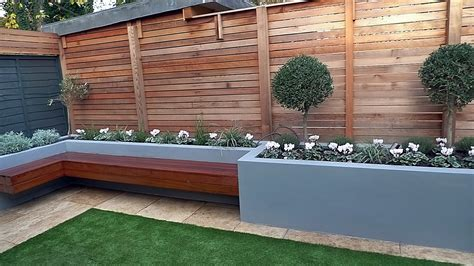 garden in west by paul newman landscapes best modern garden beds raised flower bed with grass