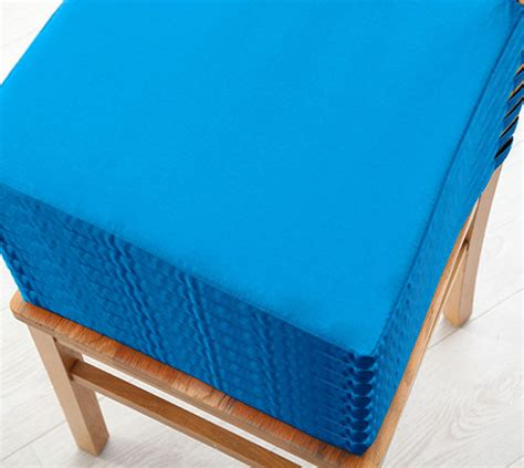 velcro for couch cushions turquoise 8 pack seat pad cushions velcro fastening dining