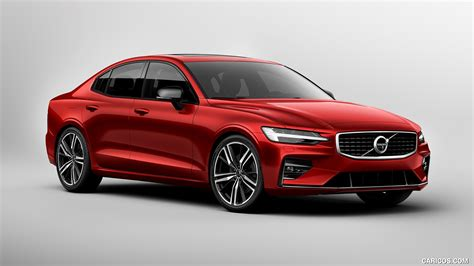 2019 volvo s60 r 2019 volvo s60 r design front three quarter hd