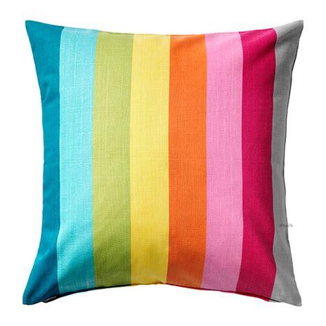 pillows ikea ikea skarum pillow cover sham cushion cvr multicolor stripes