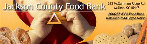 Jackson County Food Pantry by Jackson County Food Bank 606 287 8336