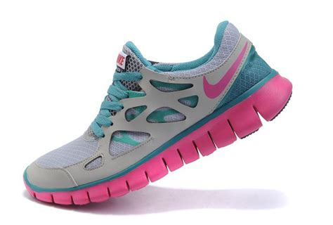grey blue nike free run 2 s running shoes
