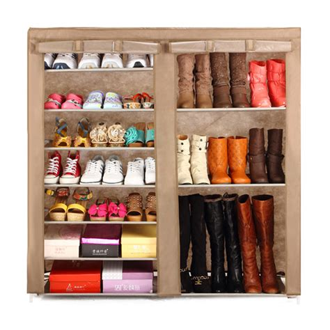 buy shoe storage free standing folding closed shoes storage cabinet style