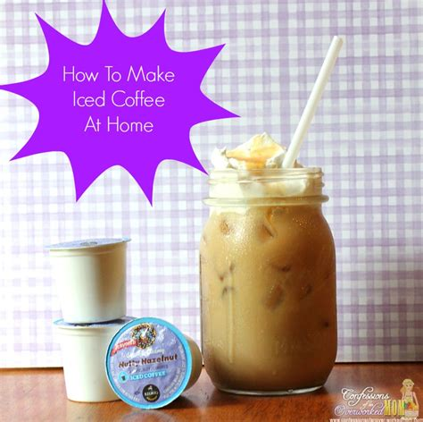 how to make iced coffee at home 1000 ideas about iced