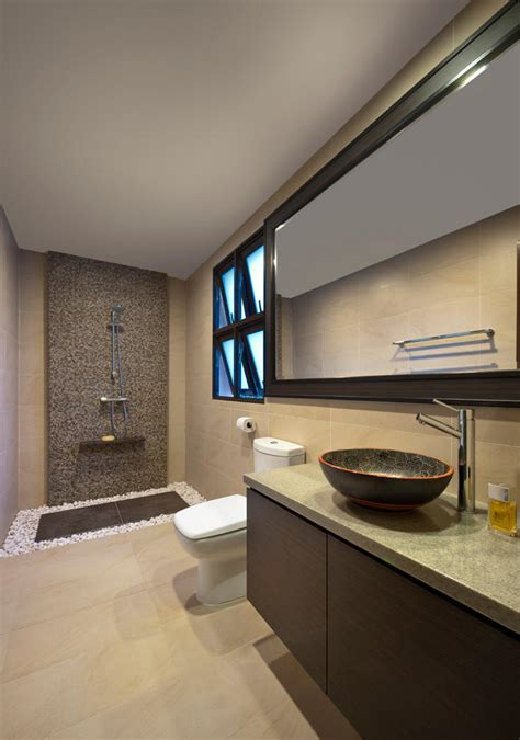 Modern Bathroom Design Singapore House Tour A Resort Style Home With Modern Touches