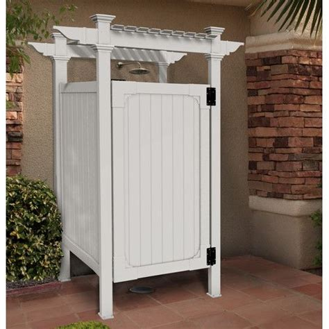 top 25 best outdoor shower enclosure ideas on