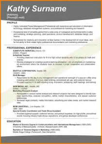 Effective Resume Sles by 4 Effective Resume Format Inventory Count Sheet