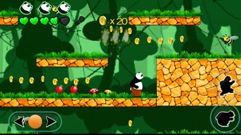 tutorial android games 2d panda jack 2d platform game for android youtube