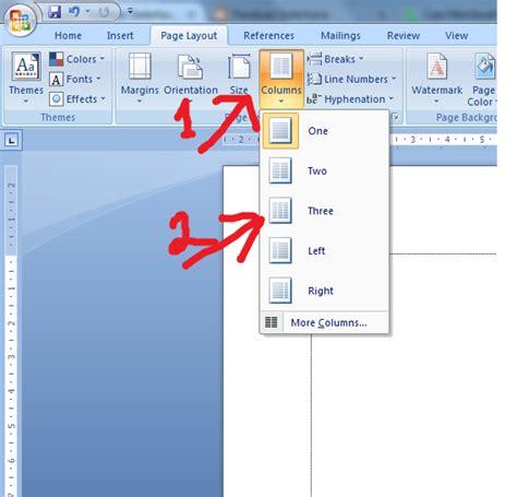 tutorial membuat halaman pada microsoft word panduan sederhana microsoft office 2007 cara membuat