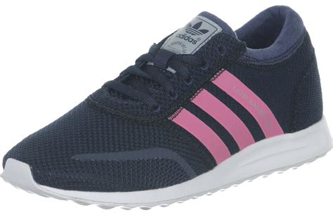 adidas los angeles k w shoes blue pink