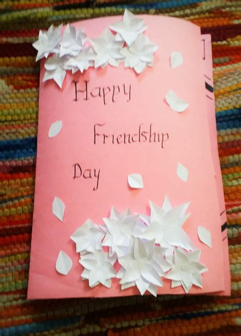 friendship day card template friendship day card
